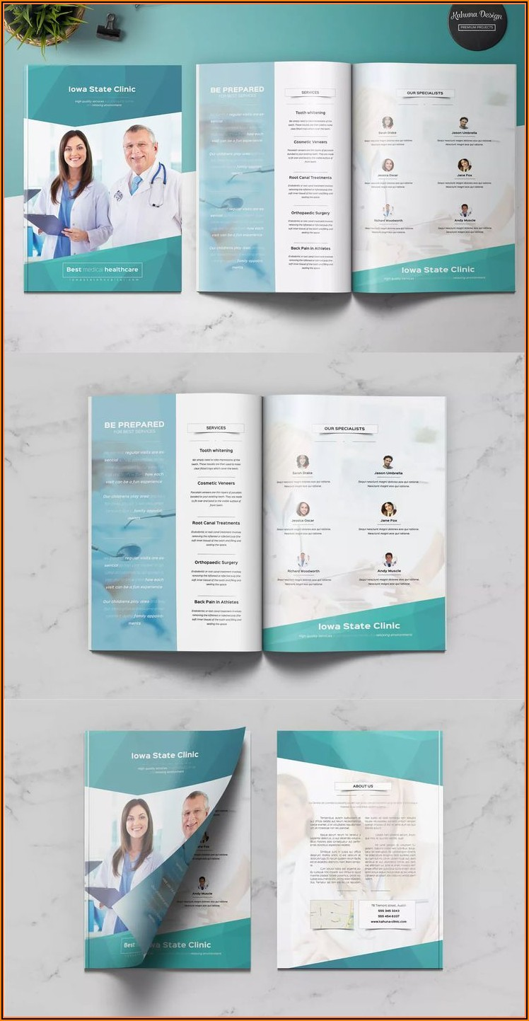 Healthcare Brochure Templates Free