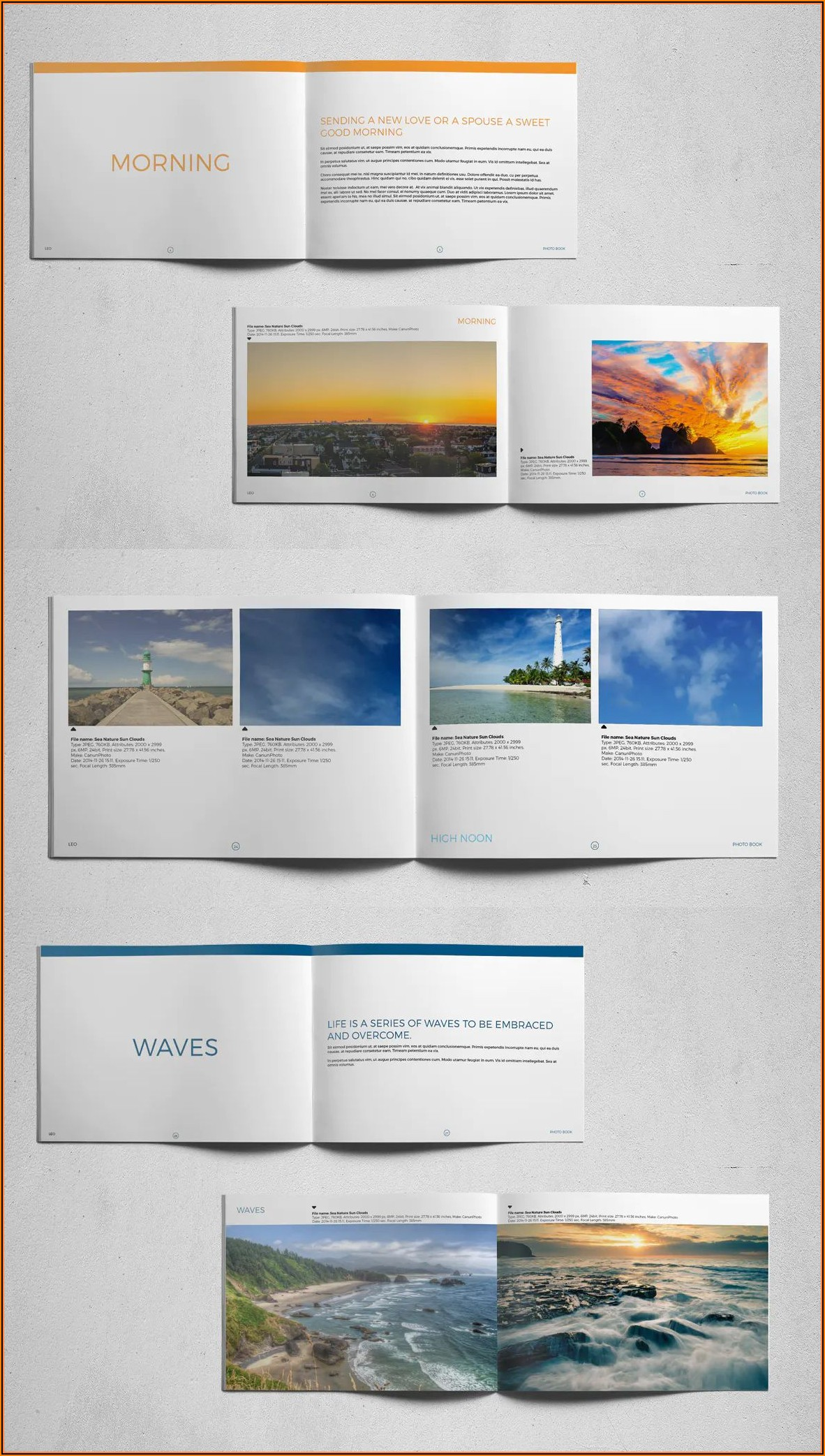 Indesign Photobook Templates