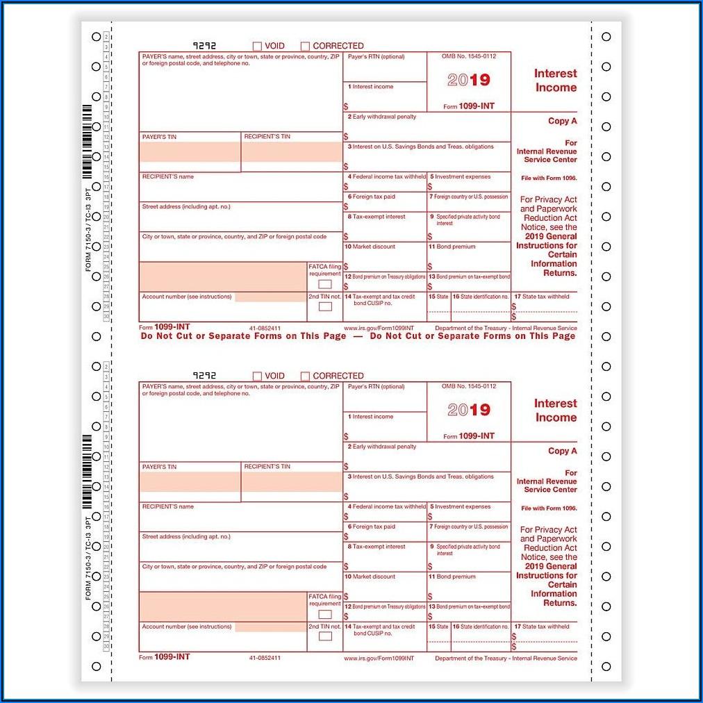 Irs Tax Form 1099 Oid