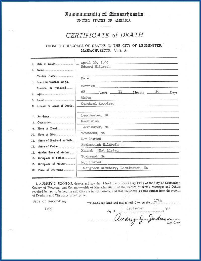 Kentucky Birth Certificate Request Form