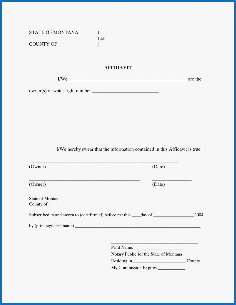 Last Will And Testament Forms Pdf