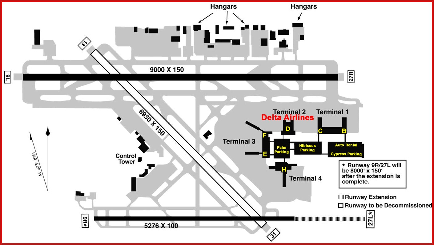 Map Of Hotels Near Fort Lauderdale Airport