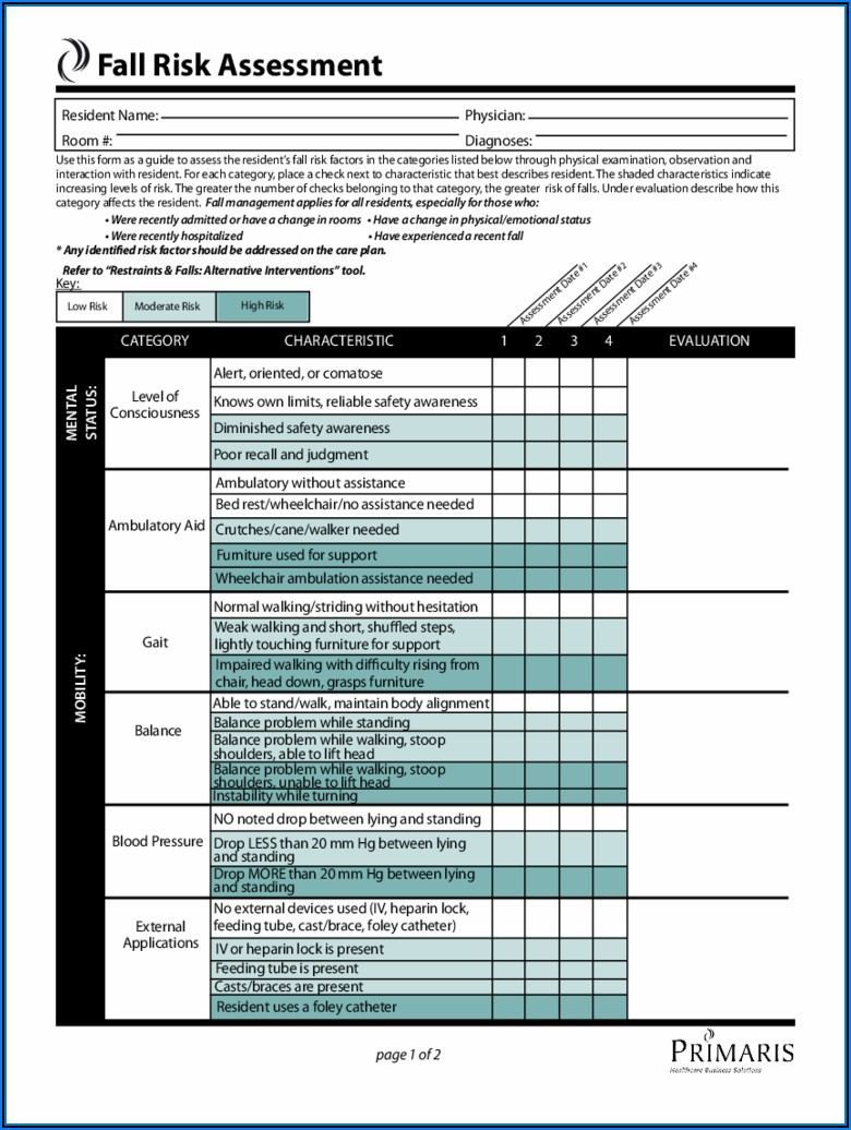 Medicare Wheelchair Assessment Form