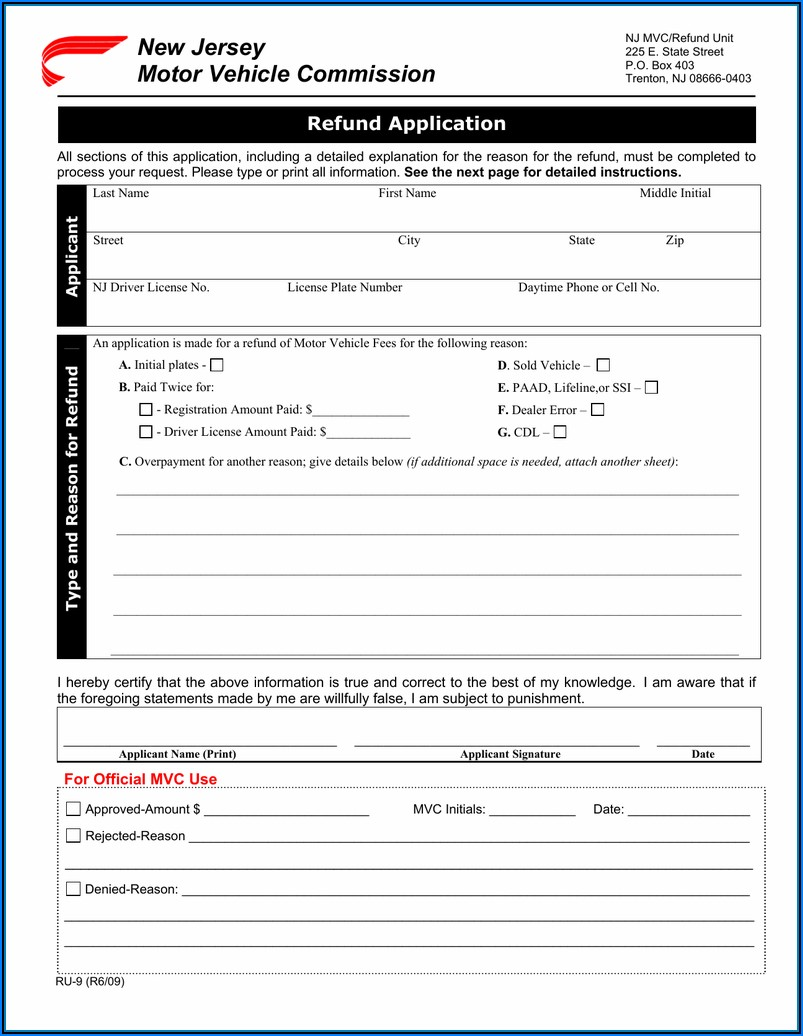 Nj Ifta Application Form