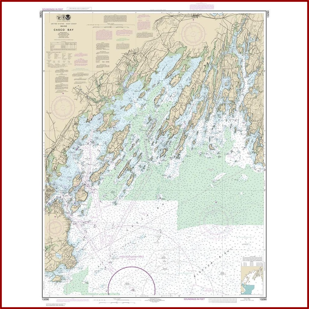 Noaa Nautical Maps For Sale