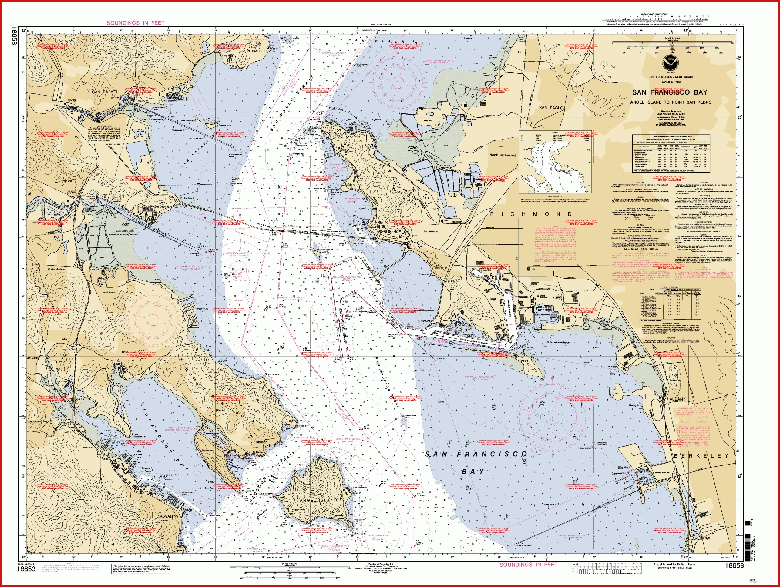 Old Nautical Maps For Sale