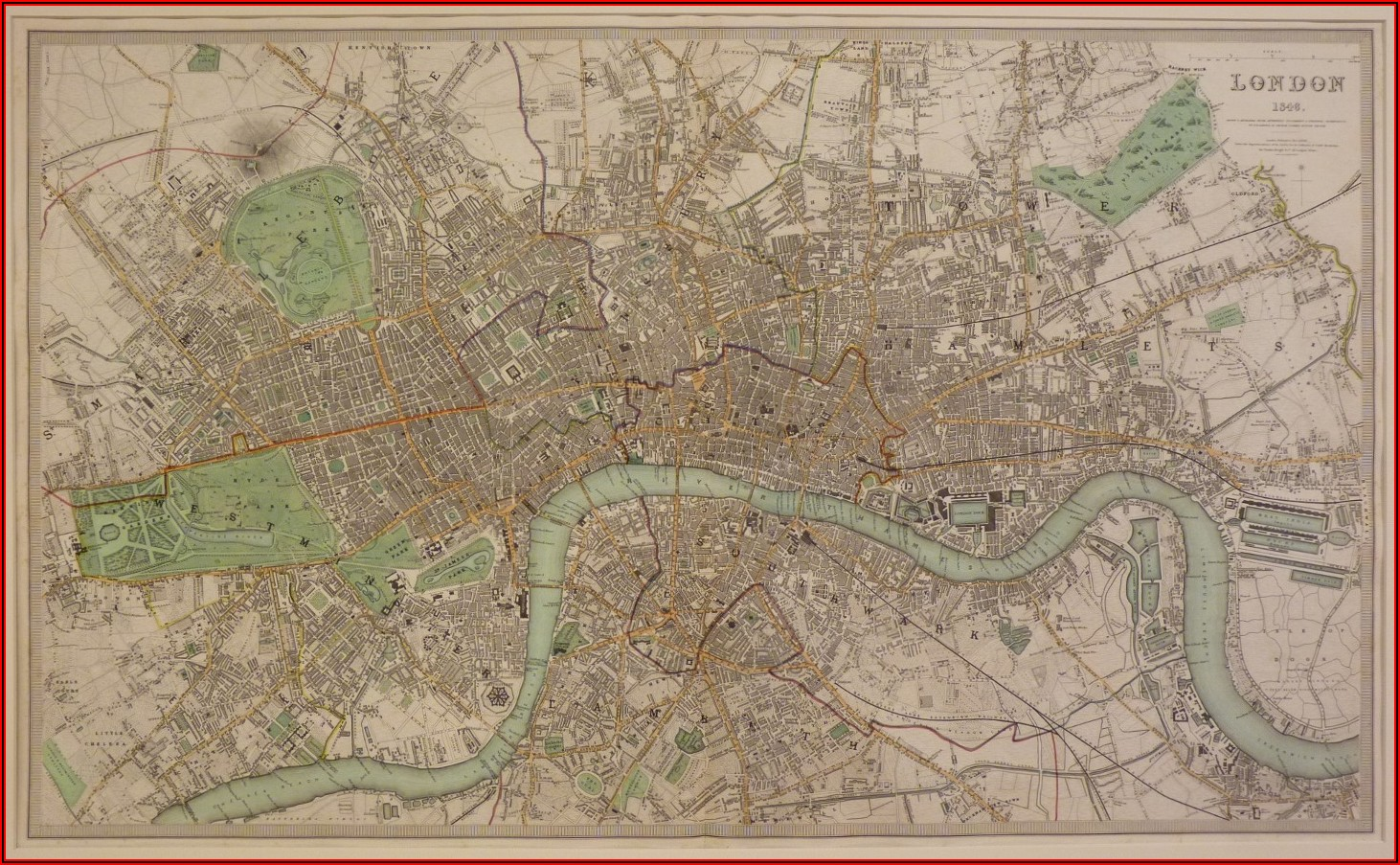 Old School Maps For Sale Uk