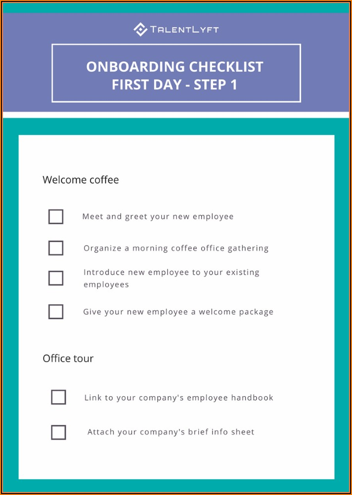 Onboarding Documents For New Employees