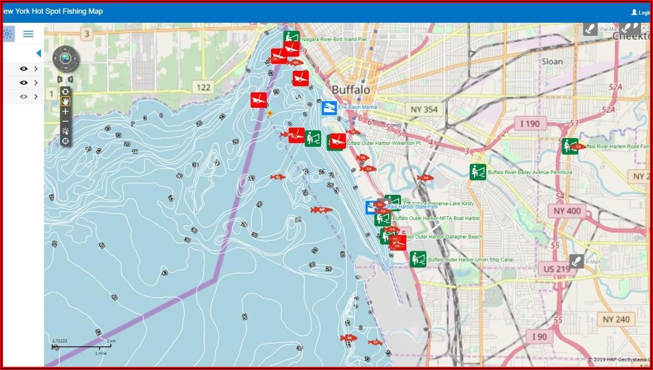 Ontario Lake Maps For Fishing