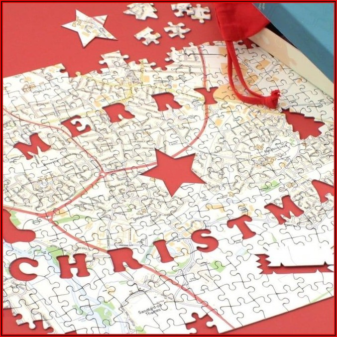 Personalised Map Jigsaw Puzzles