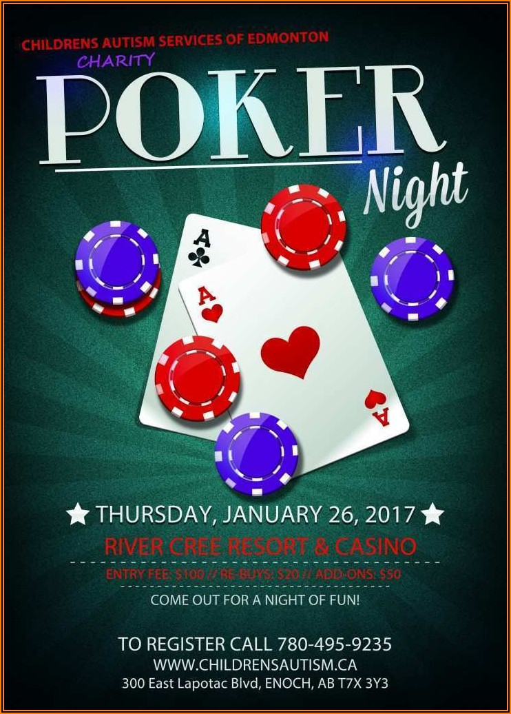 Poker Tournament Invitation Templates