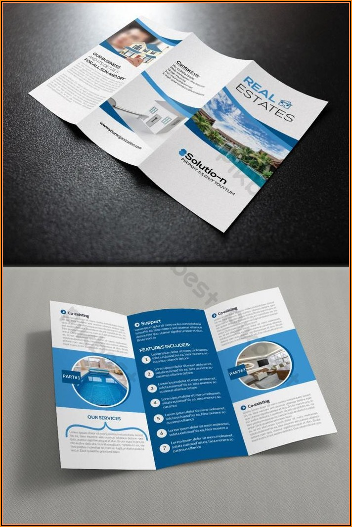 Real Estate Brochure Template Free Download