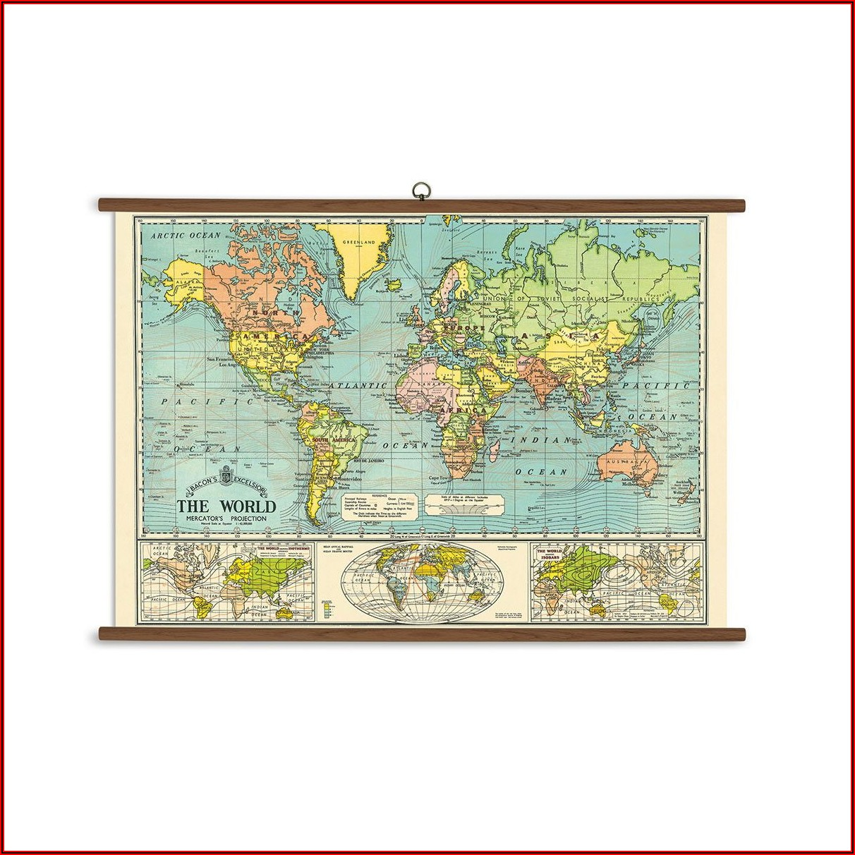 School Wall Maps For Sale