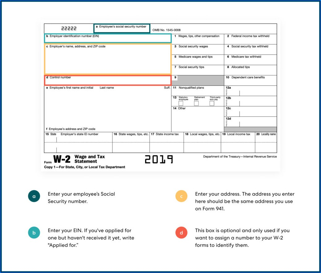 Social Security Disability W2 Form