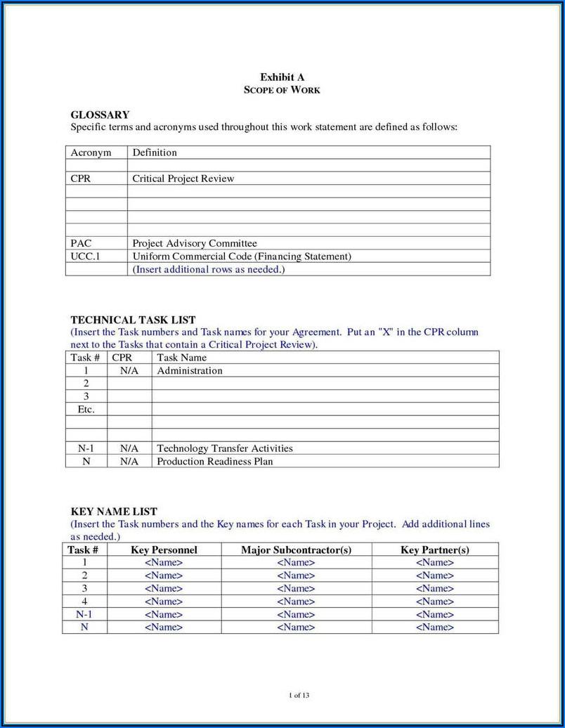 Subcontractor 1099 Form