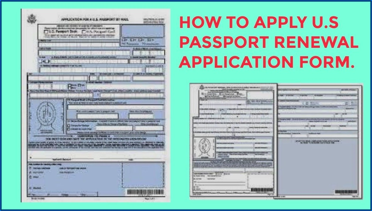 Us Passport Renewal Forms