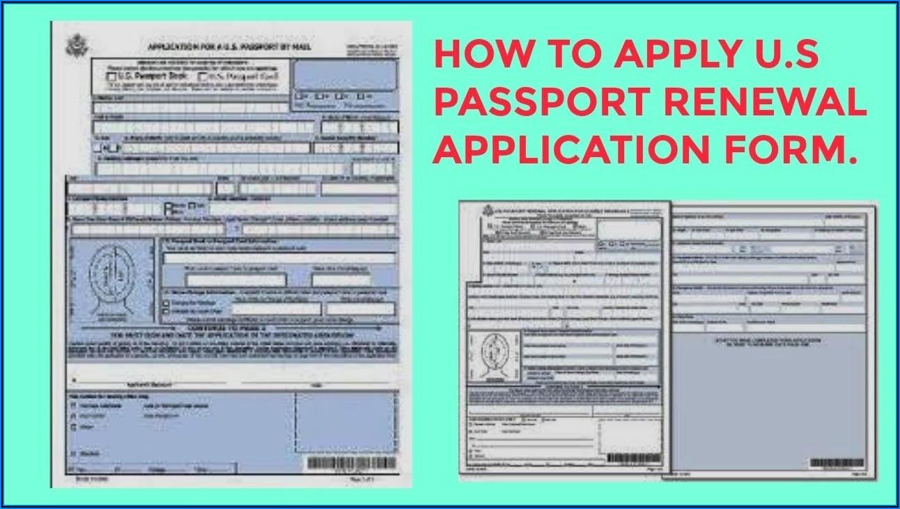 Us Passport Renewal Forms
