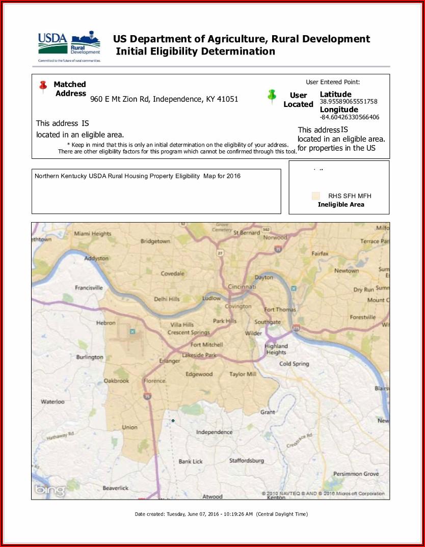 Usda Home Loan Eligibility Map Washington