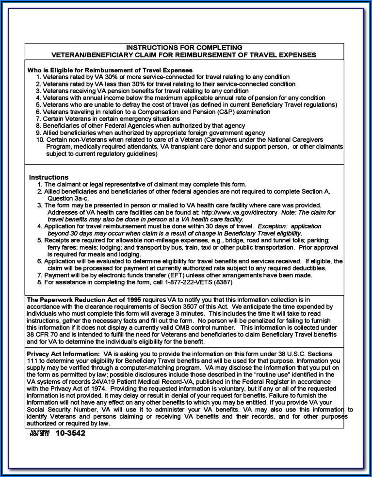 Va Form 21 4138 Printable