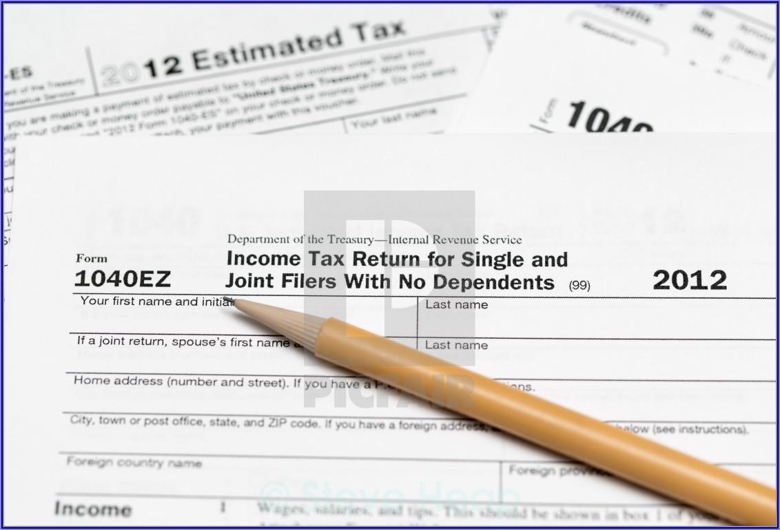 1040ez Tax Form Download