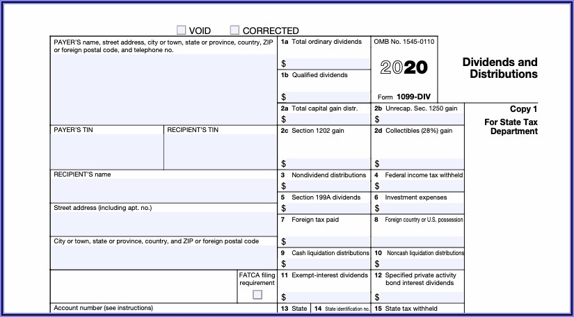 1099 Tax Form Filing Deadline
