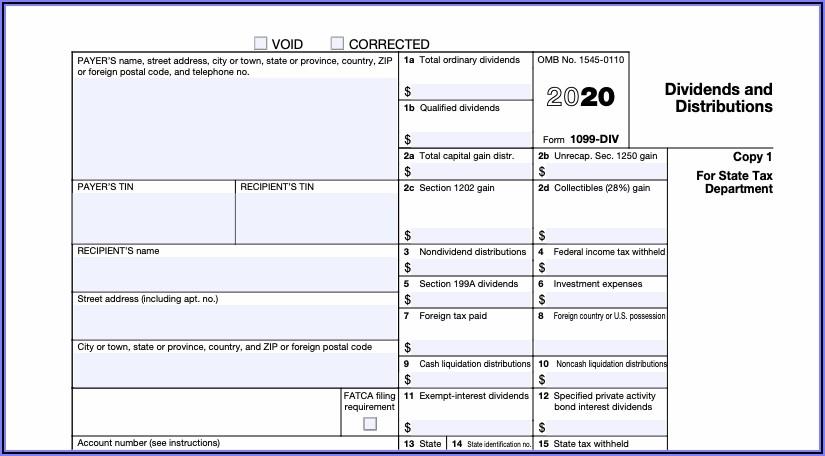 1099 Tax Form Filing Deadline