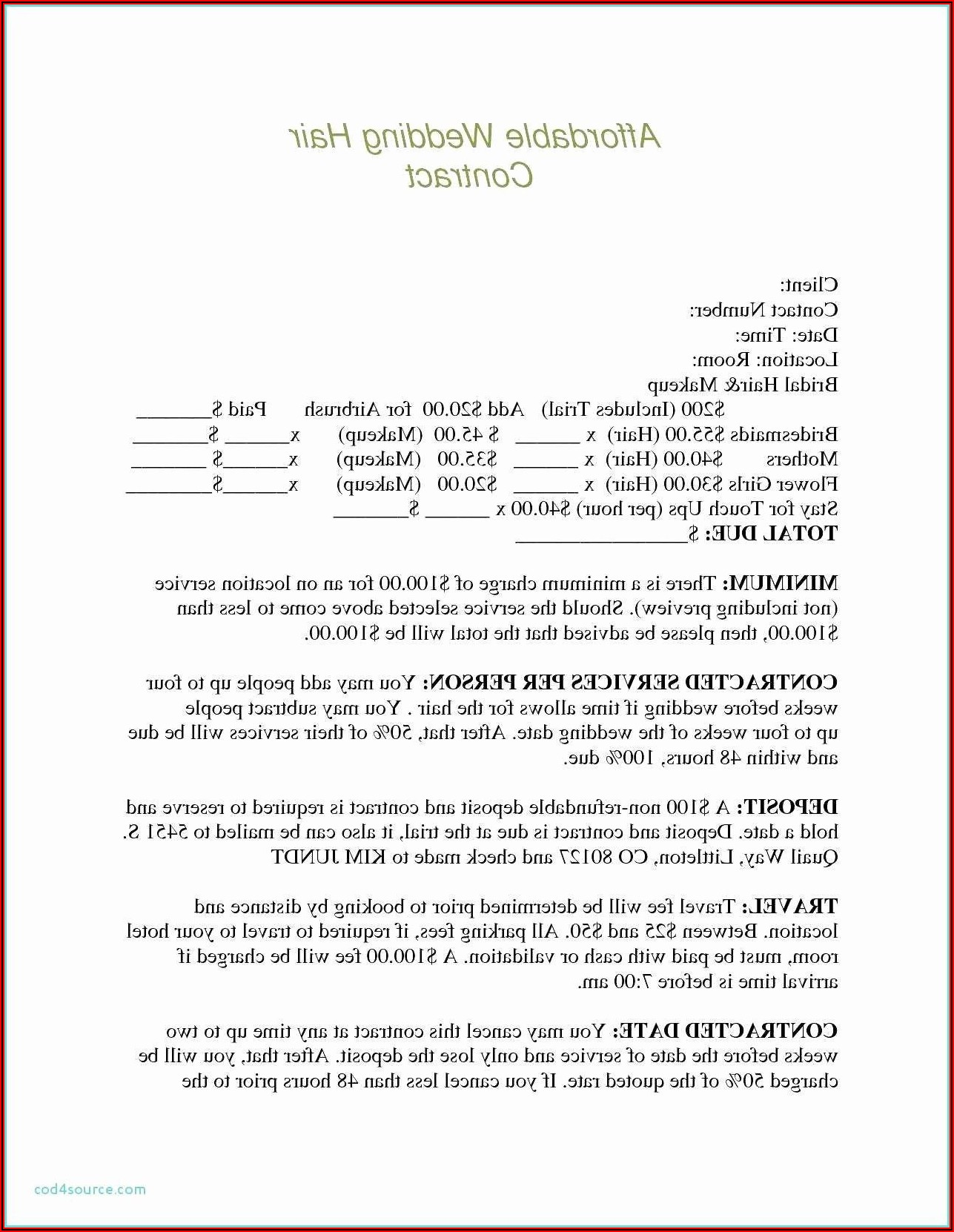 Auto Loan Agreement Template Free