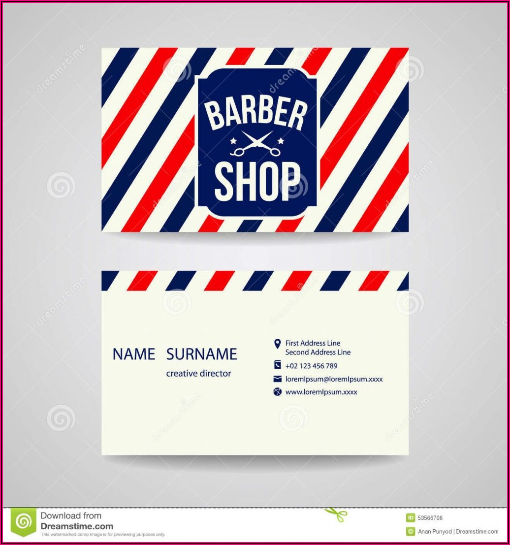 Barber Shop Business Plan Example
