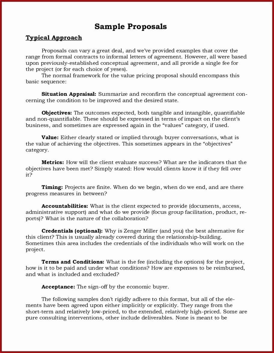 Business Partnership Proposal Template Free
