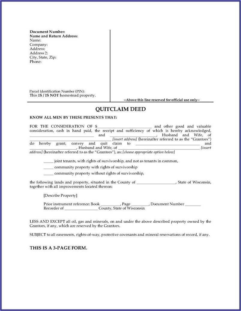 California Warranty Deed Form