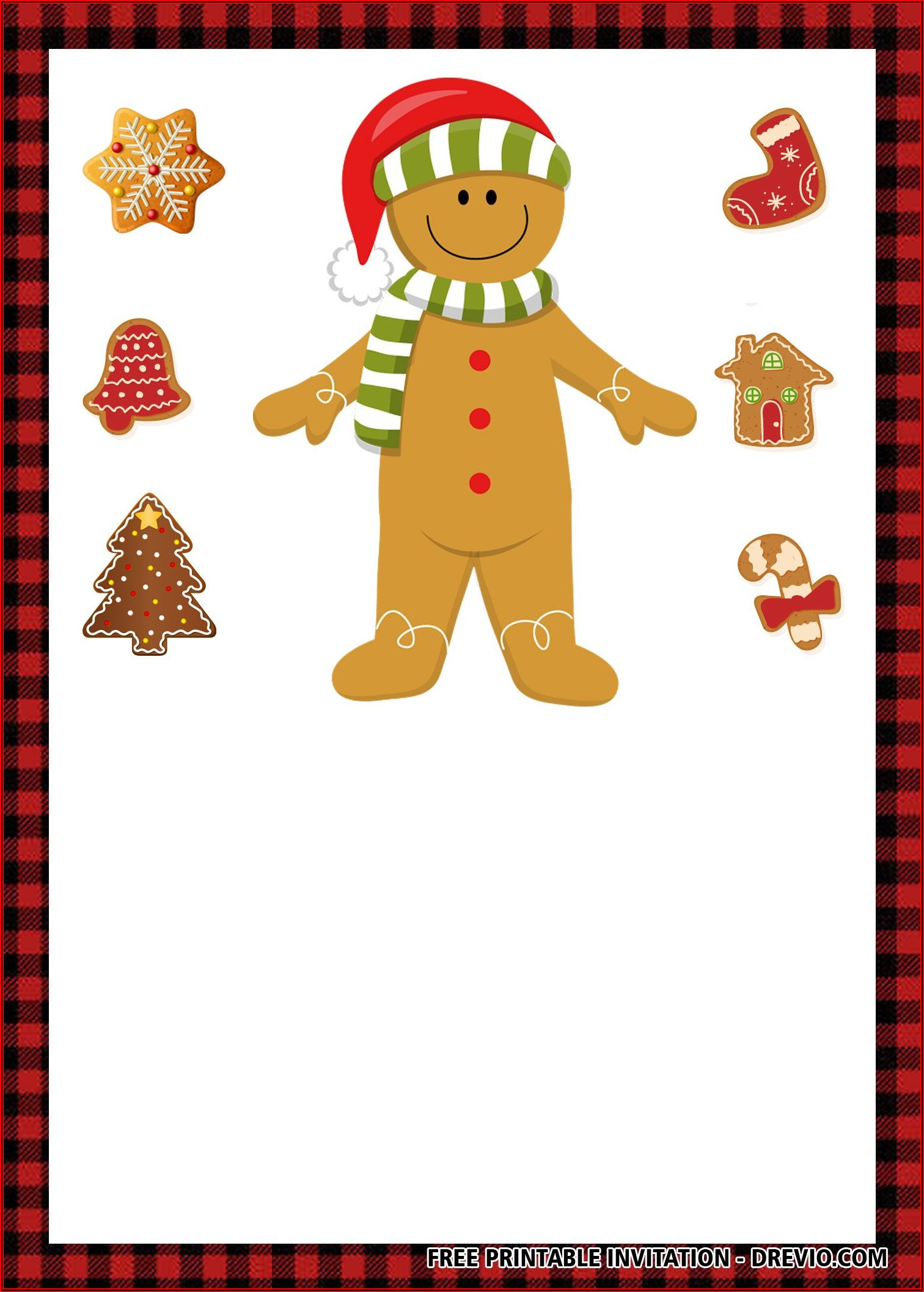 Christmas Cookie Exchange Invitations Templates