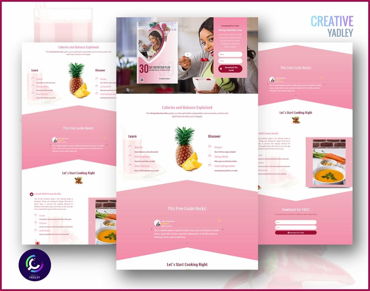 Dietitian Website Templates