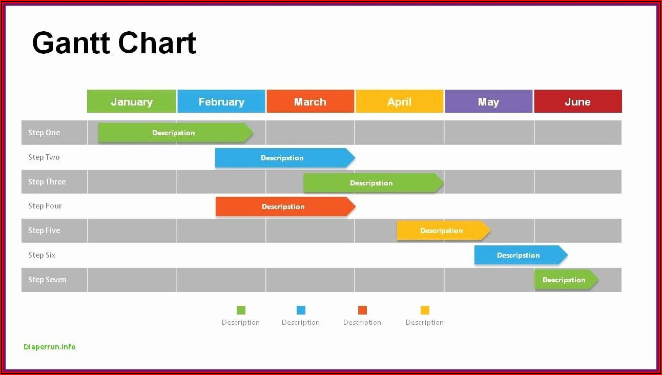 Download Free Gantt Chart Powerpoint Template