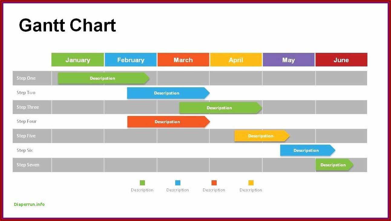 Download Free Gantt Chart Powerpoint Template