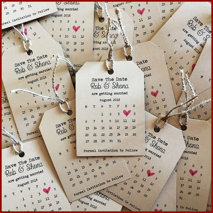 Etsy Save The Date Invitations