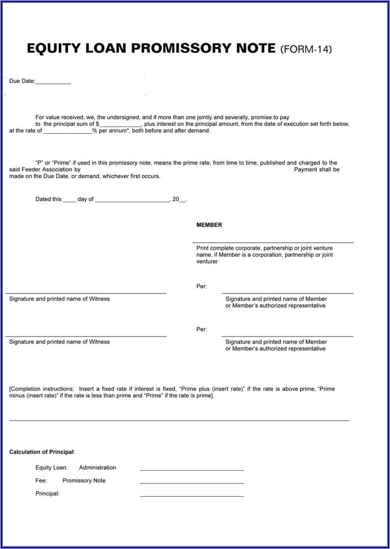 Free Arizona Promissory Note Form