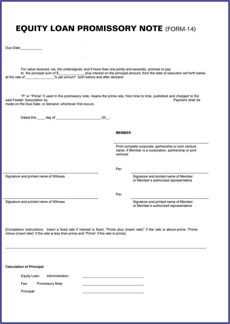 Free Arizona Promissory Note Form