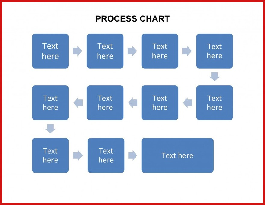 Free Blank Flow Chart Template For Excel