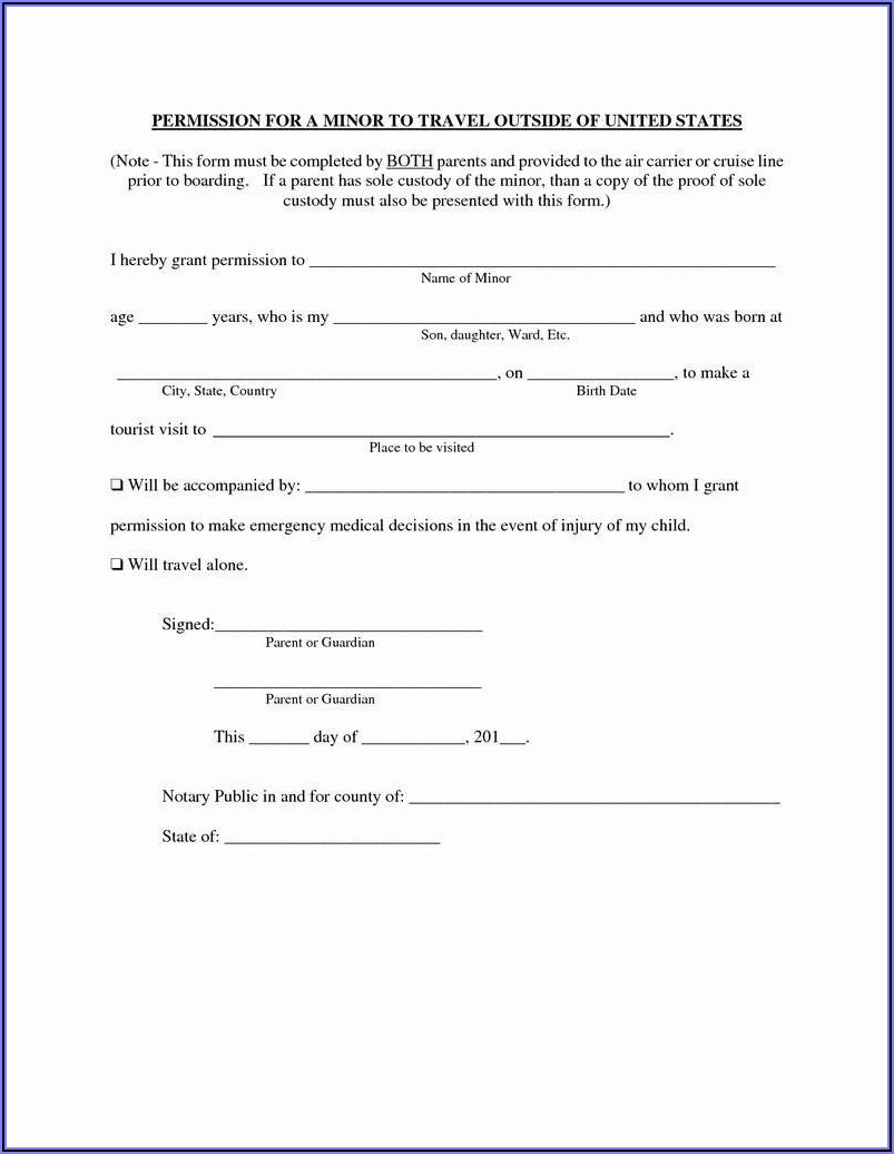 Free Child Guardianship Forms Texas