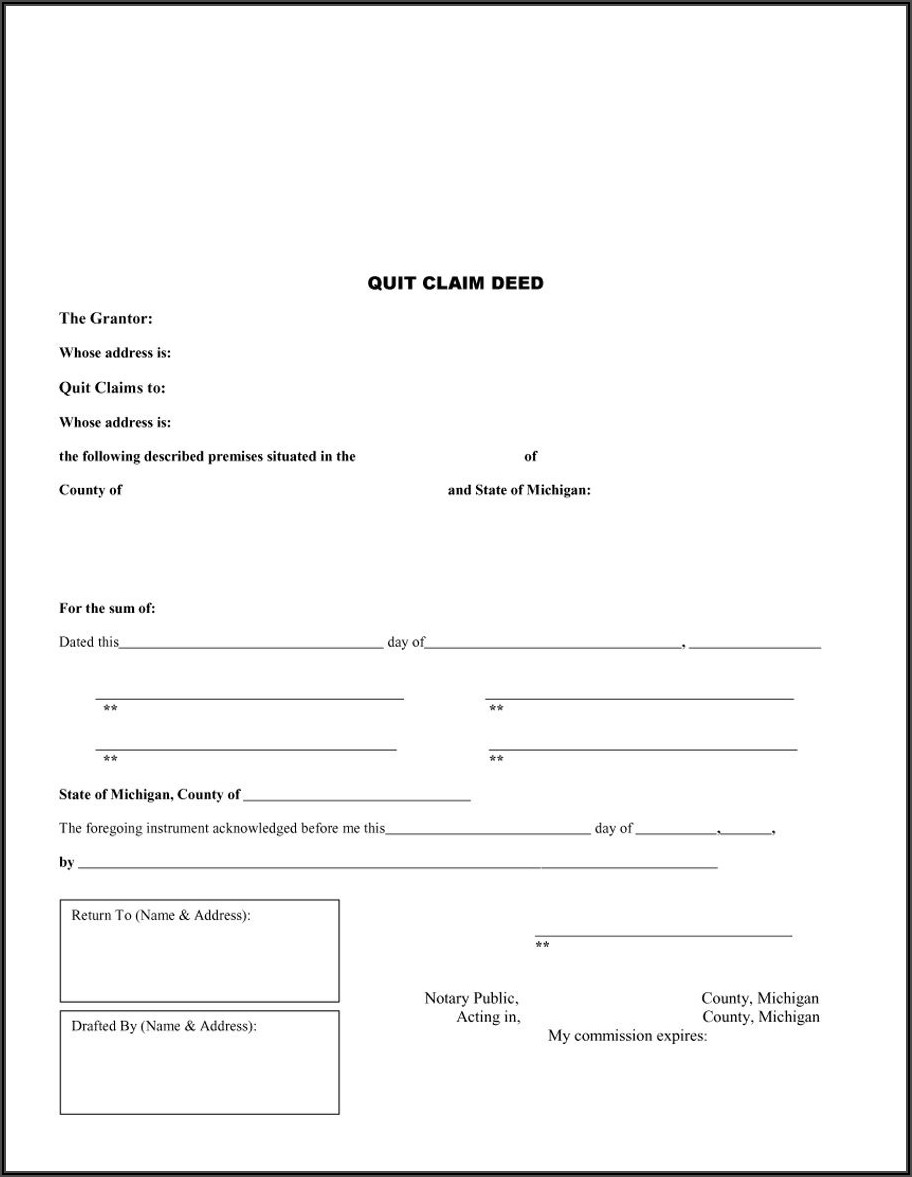 Free Grant Deed Template