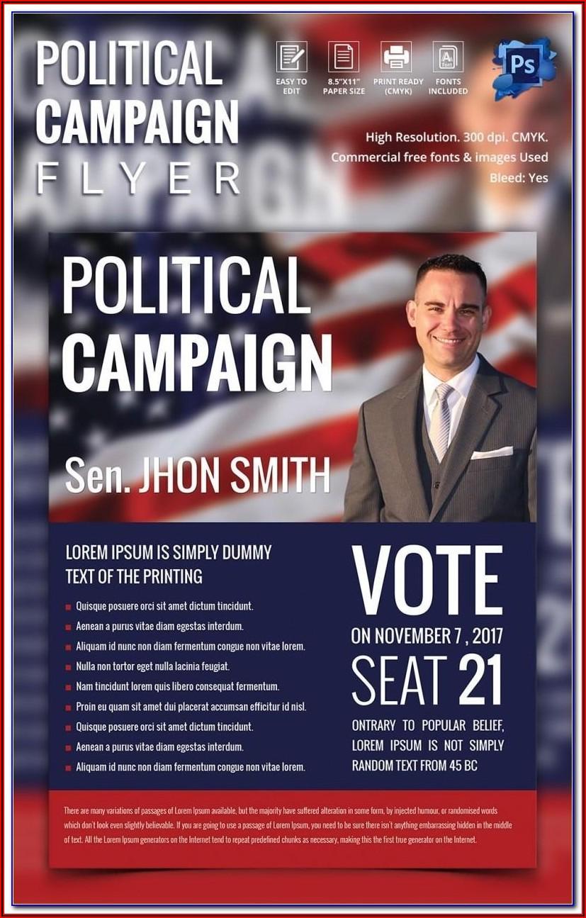 Free Political Postcard Template