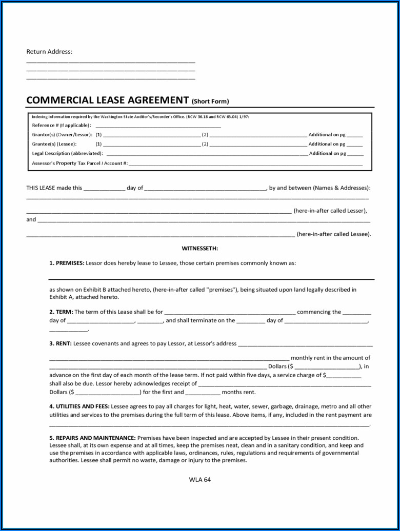 Free Rental Agreement Form Download