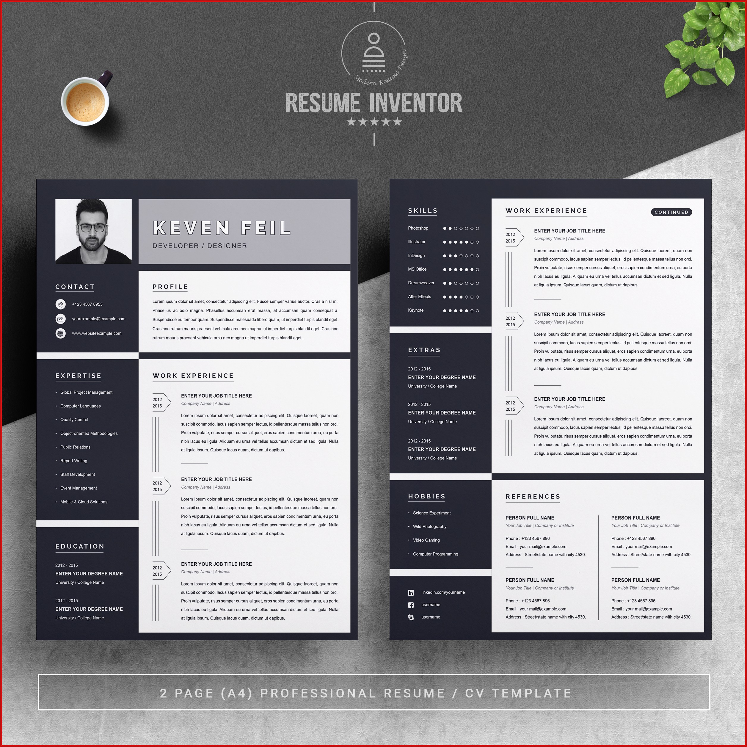 Free Resume Templates Online To Print