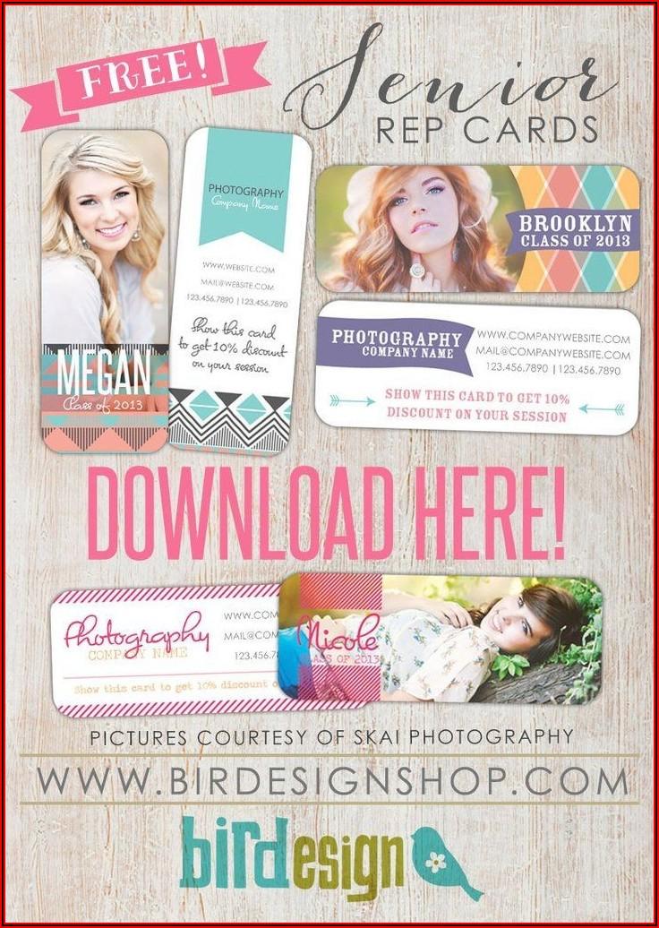 Free Senior Photography Marketing Templates