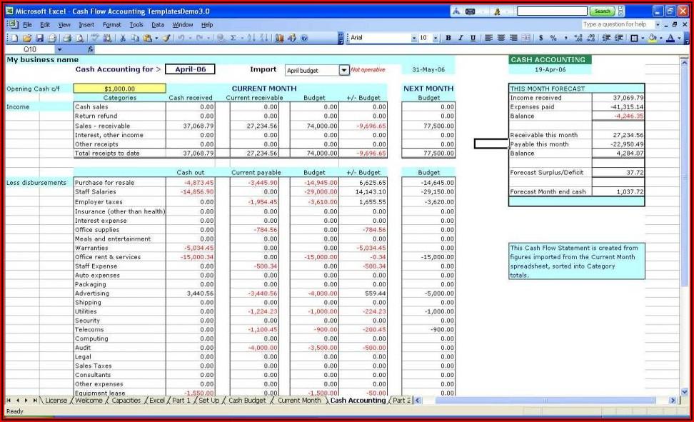 Free Windows Invoice Template