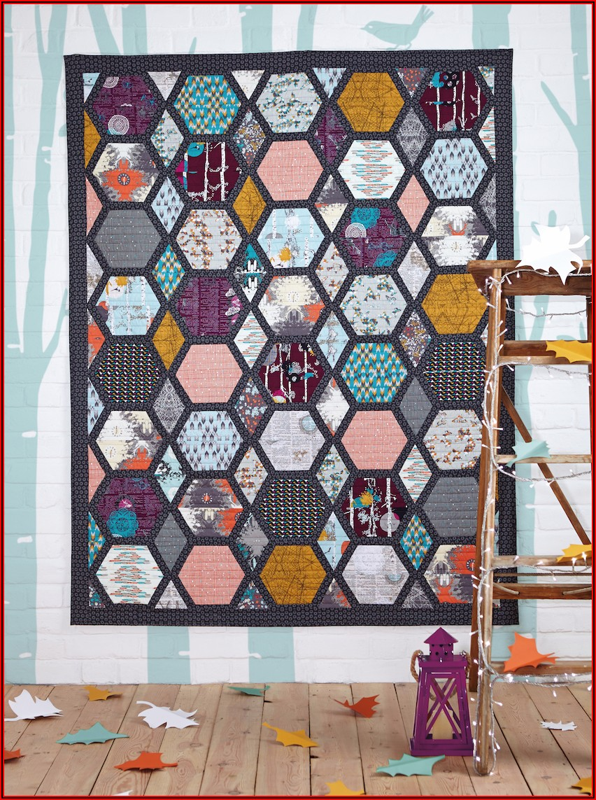 Hexagon Pattern Quilting Free