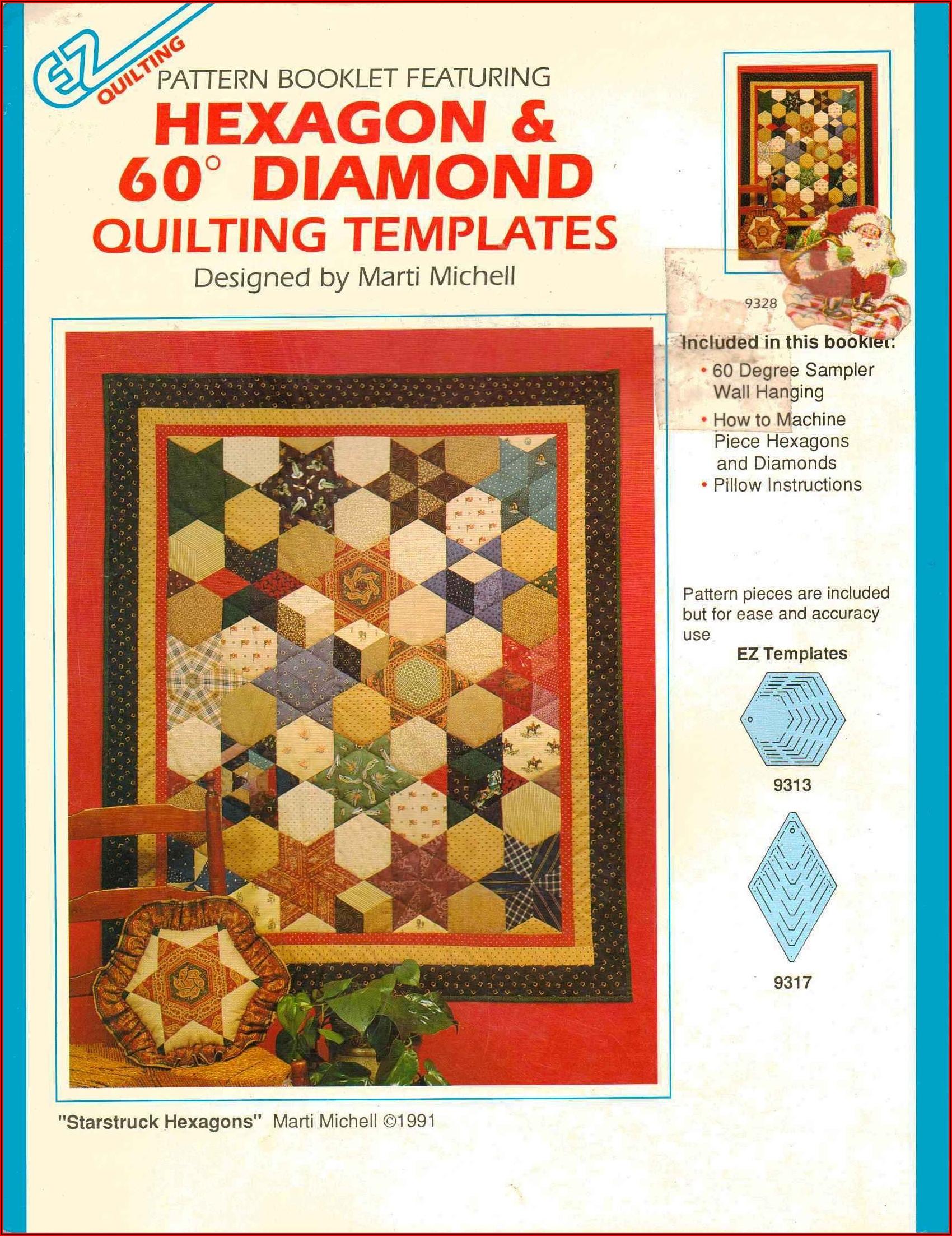 Hexagon Quilting Pattern