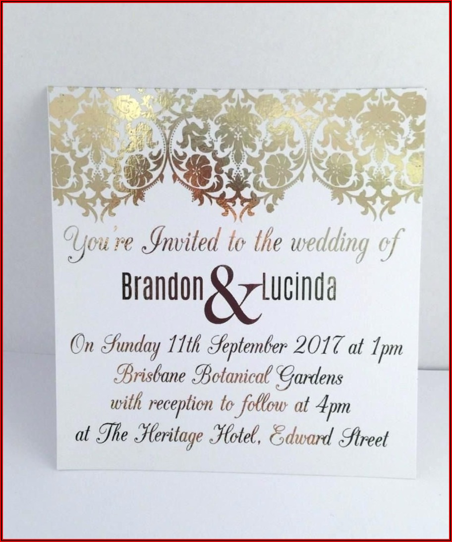 Hotel Accommodations Template For Wedding Invitations