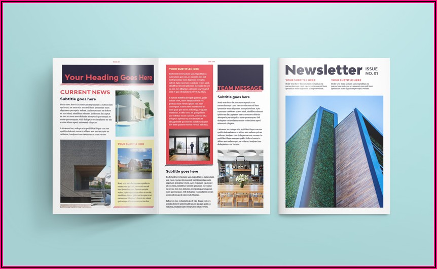 How To Create A Newsletter Template In Indesign
