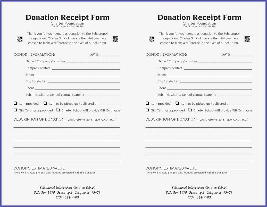 Irs 501 C 3 Forms